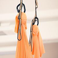 Aerial Yoga Tuch Aufhängung