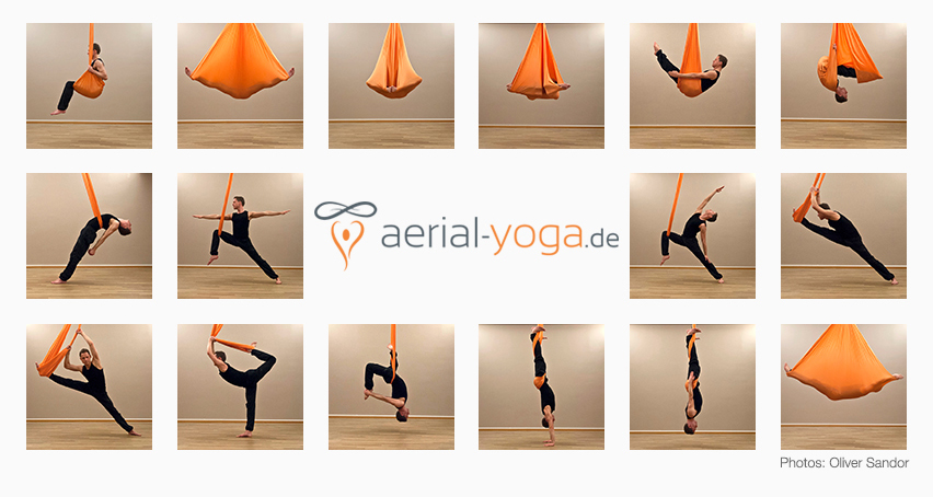 Aerial Yoga Übungen für Einsteiger